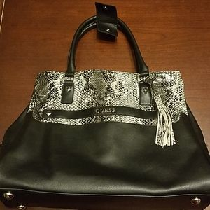 Guess diaper bag with accessories